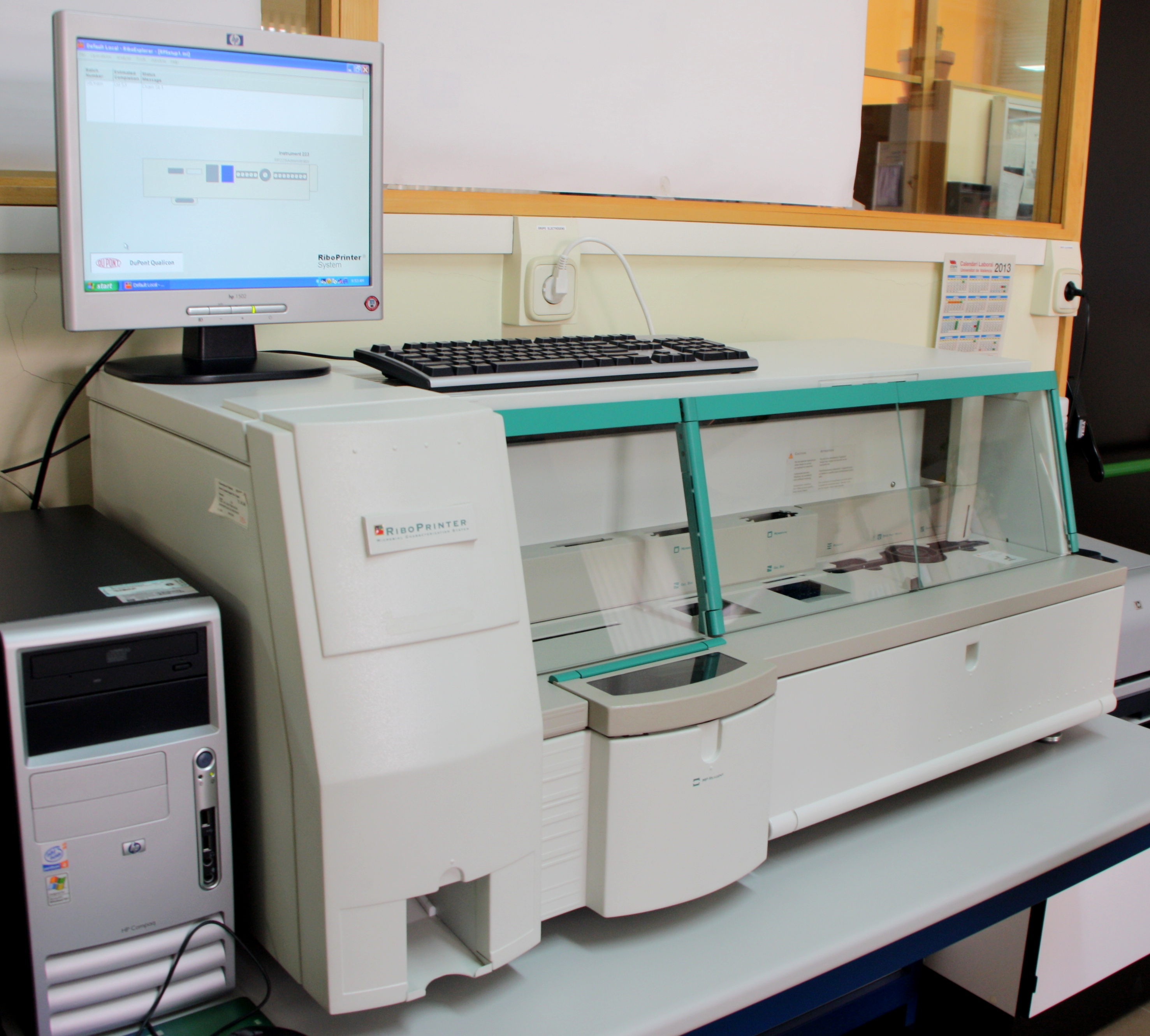 Riboprinter microbial characterisation system.
